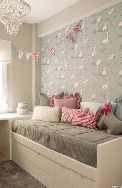 1. habitación infantil con vinilo decorativo