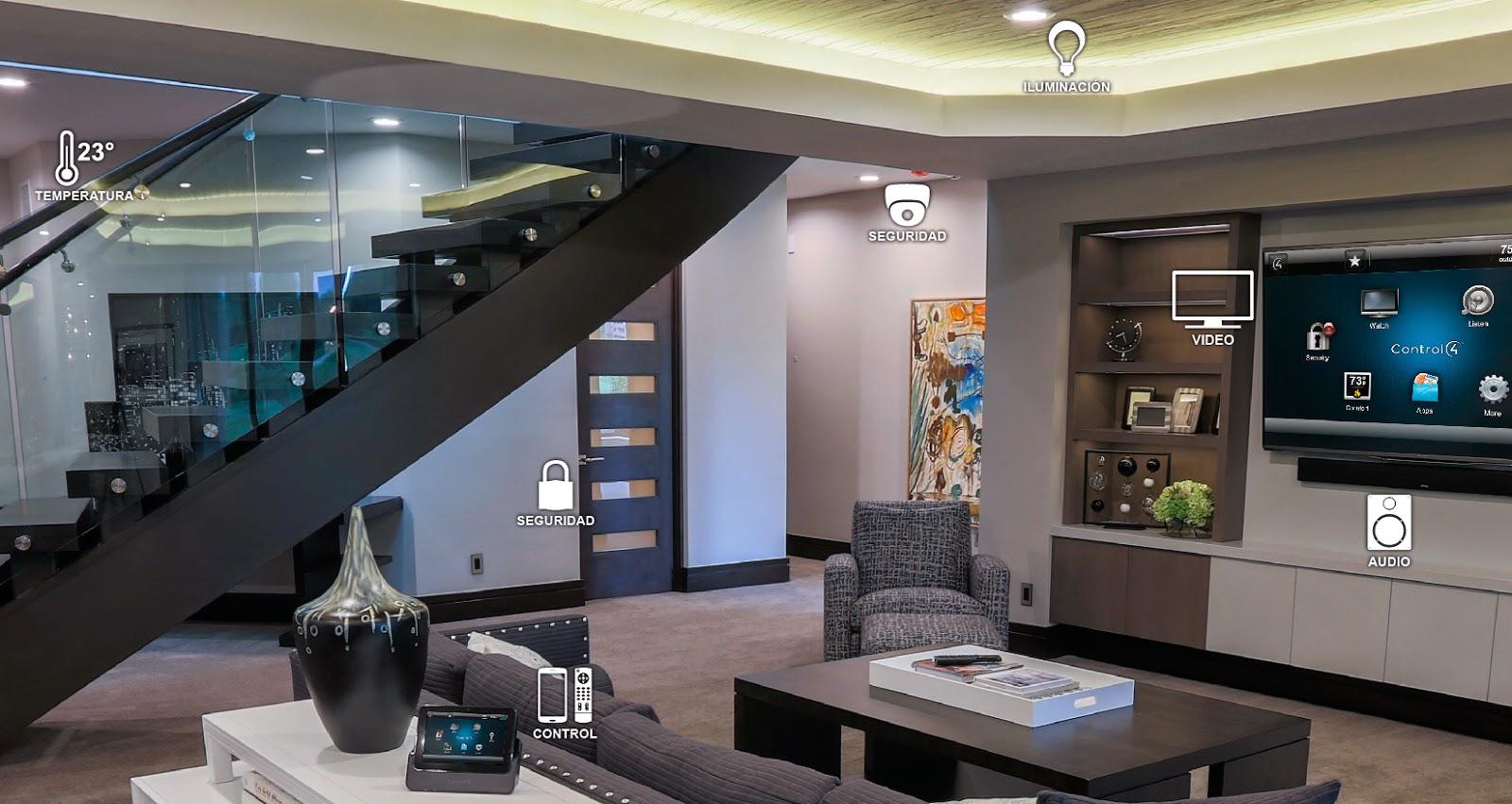 Tecnolog a en el hogar blog gm proyecto living - Domotica en casa ...