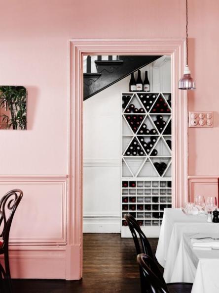 Color tendencia en decoración Rosa Cuarzo