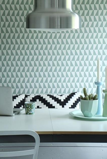 motivos geométricos en paredes