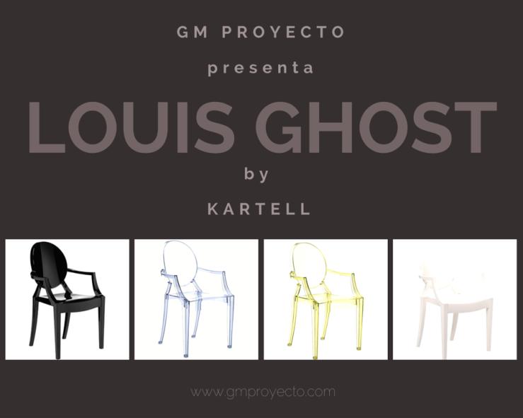 silla Louis Ghost de kartell personalizada