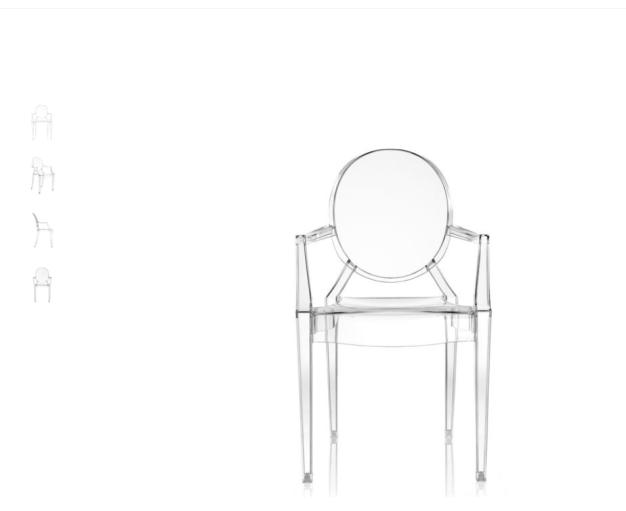 silla Louis Ghost de kartell