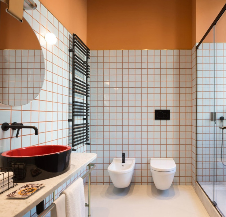 baño Hotel Room Mate Giulia